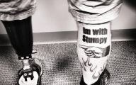 Funny Amputee Tattoos 4 Widescreen Wallpaper
