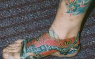 Funny Ankle Tattoos 2 Cool Wallpaper