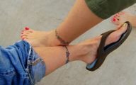 Funny Ankle Tattoos 5 Widescreen Wallpaper