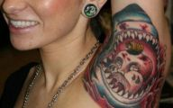 Funny Armpit Tattoos 32 Background