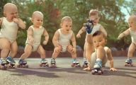 Funny Babies Dancing 34 Widescreen Wallpaper
