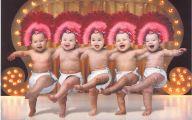 Funny Babies Dancing 4 Desktop Background