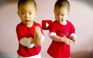 Funny Babies Dancing 5 Free Wallpaper