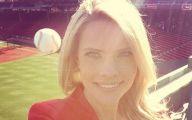 Funny Baseball Selfie 2 Wide Wallpaper