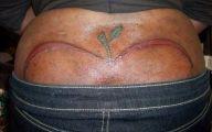 Funny Bum Tattoos 1 Widescreen Wallpaper