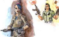 Funny Bum Tattoos 13 Background