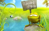 Funny Cartoon Clips 6 Background Wallpaper
