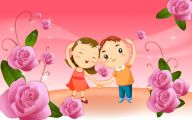 Funny Cartoons About Love 14 Wide Wallpaper