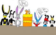 Funny Cartoons Birthday 2 Desktop Background