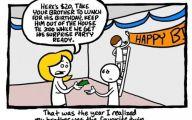 Funny Cartoons Birthday 3 Desktop Background