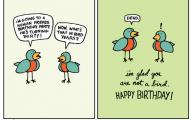 Funny Cartoons Birthday 5 Background
