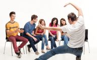Funny Charades Celebrities 8 Background Wallpaper