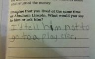 Funny Children's Answers To Exam Questions 7 Desktop Wallpaper