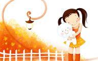 Funny Children's Art 49 Wide Wallpaper