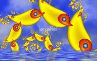 Funny Children's Artwork 16 Desktop Background