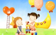 Funny Children's Artwork 24 Background