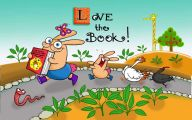 Funny Children's Book Characters 2 Free Hd Wallpaper