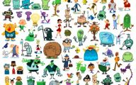 Funny Children's Book Characters 3 High Resolution Wallpaper
