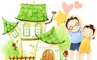 Funny Children's Drawings 3 Background