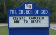 Funny Church Signs 10 Free Wallpaper