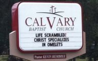 Funny Church Signs 13 Widescreen Wallpaper