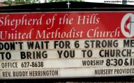 Funny Church Signs 26 Wide Wallpaper