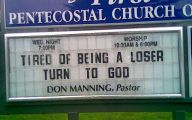 Funny Church Signs 5 Free Wallpaper