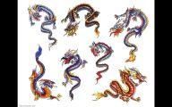 Funny Dragon Tattoos 1 Desktop Wallpaper