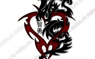 Funny Dragon Tattoos 16 Background