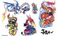 Funny Dragon Tattoos 36 Desktop Wallpaper