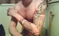 Funny Dragon Tattoos 9 Wide Wallpaper