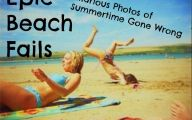 Funny Fails At The Beach 12 Desktop Wallpaper