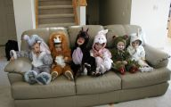 Funny Kid Costumes 1 Wide Wallpaper