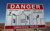 Funny Road Signs 13 Widescreen Wallpaper