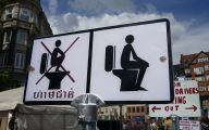 Funny Road Signs 20 Free Wallpaper