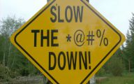Funny Road Signs 31 Desktop Wallpaper