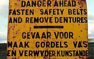 Funny Road Signs 32 Wide Wallpaper