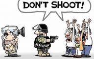 Funny Signs About Ferguson 2 Background