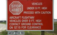Funny Signs At Airport 6 Desktop Background