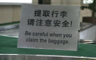 Funny Signs At Airport 8 Desktop Background