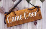 Funny Signs At Games 1 Desktop Background