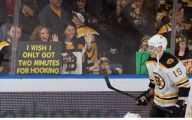 Funny Signs At Games 5 Widescreen Wallpaper