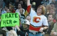 Funny Signs At Games 7 Widescreen Wallpaper
