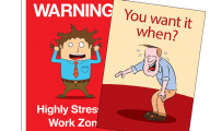 Funny Signs At Work 15 Background Wallpaper
