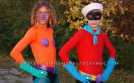Boys Funny Costumes 3 Background Wallpaper