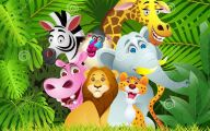 Funny Animals Cartoon 13 Background
