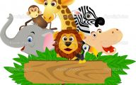 Funny Animals Cartoon 21 Background Wallpaper