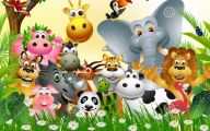 Funny Animals Cartoon 29 Widescreen Wallpaper