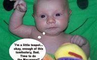 Funny Babies 133 Desktop Wallpaper