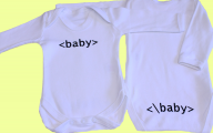 Funny Baby Onesies 3 Desktop Background